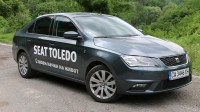 Зад волана на новия Seat Toledo (видео)