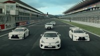 "Спортните модели на Lexus ""танцуват"" по пистата (видео)"
