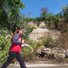 Свлачището застрашава международния път Дуранкулак – Варна