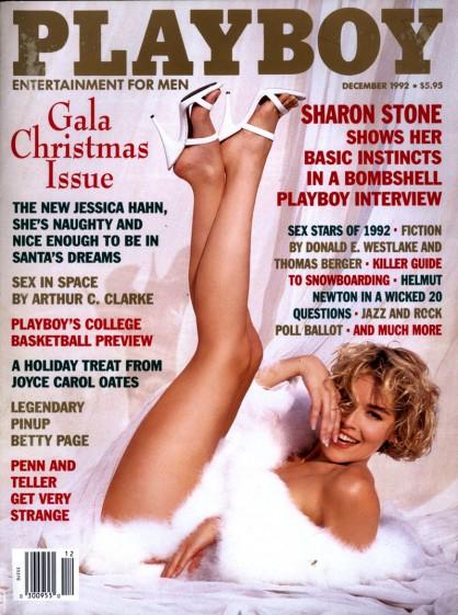 Шарън Стоун в Playboy