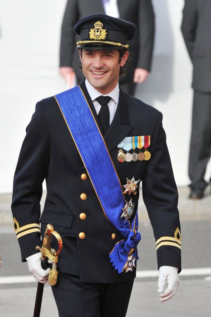 Шведският принц Карл Филип