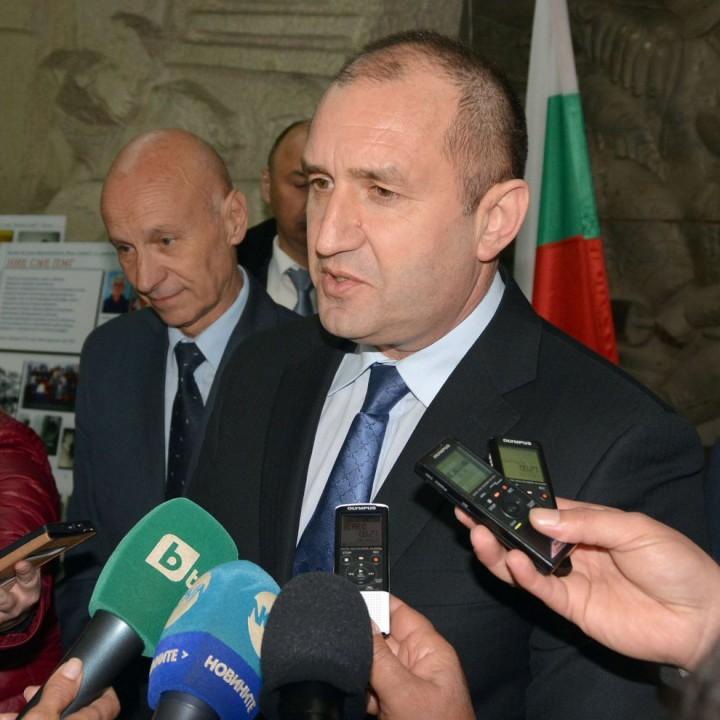 Президентът Румен Радев посети Хасково