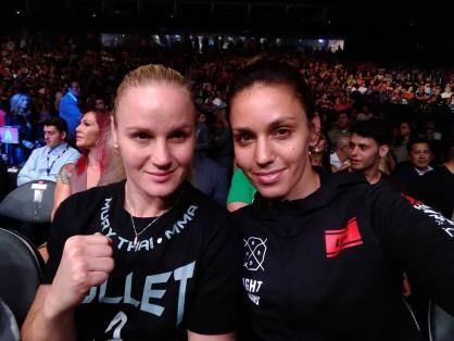 ММА състезателките Антонина и Валентина Шевченко