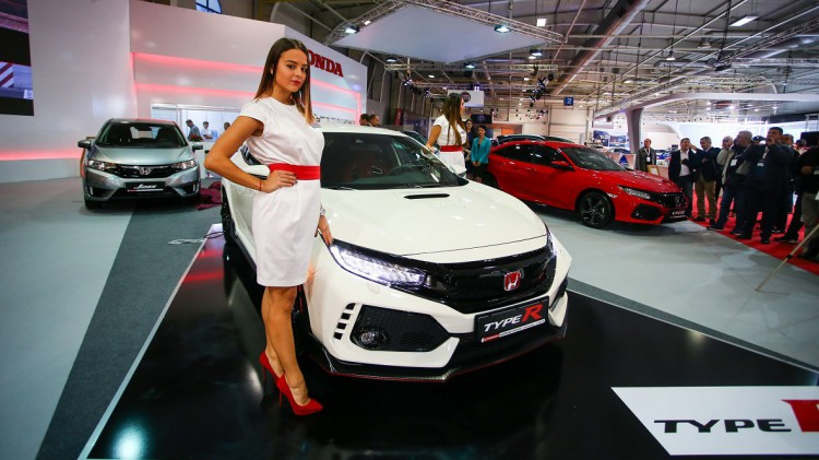 Honda Civic Type-R на Автосалон София 2017