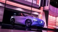 Nissan показа своят отговор на Tesla Model X<br /> 6 снимки