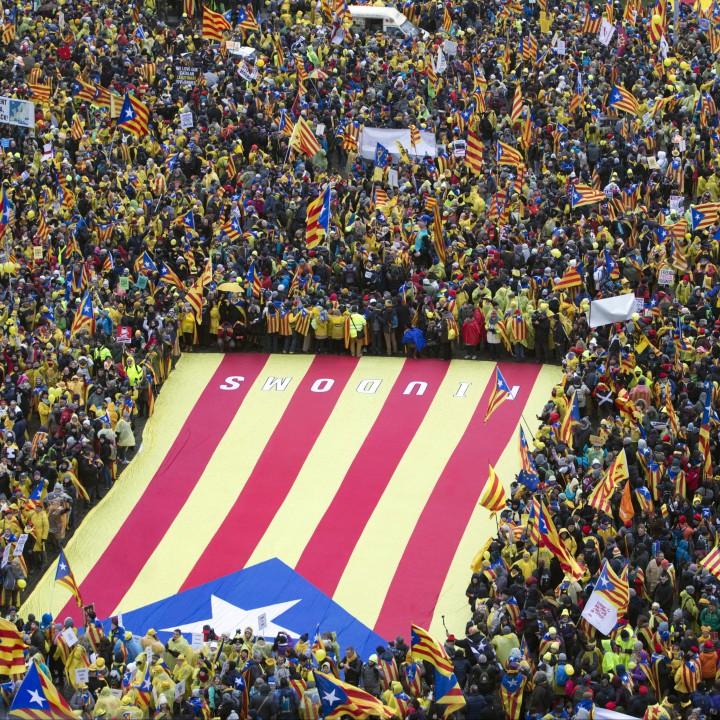 Около 45 000 души участват в демонстрация днес в квартала с европейските институции в Брюксел
