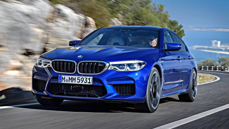 Новото BMW M5