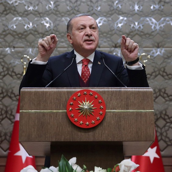 Реджеп Ердоган: Турция ще прочисти границата си с Ирак от терористи