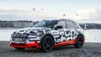 Нови подробности за Audi E-Tron (снимки)