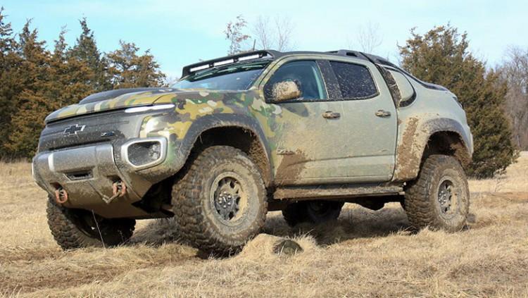 Chevrolet Silverado ZH2